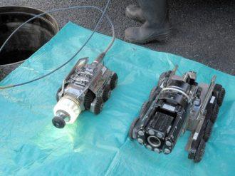 管路調査用カメラ(ミラー方式・アナログ方式)